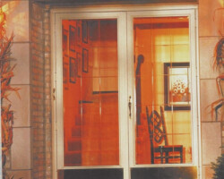We only install the BEST. Trapp storm doors have many colors and styles available with a lifetime limited warranty. This will be the best and last storm door you will ever own.